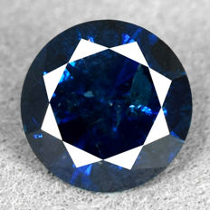 Blue diamond – 1.13 ct No Reserve Price – VG/VG/VG