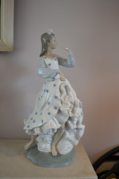 Nao by Lladro Spaanse flamenco danseres - 37 cm