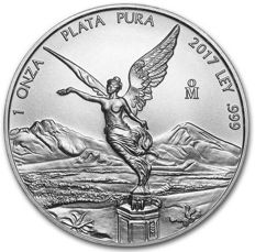 Mexico - Libertad 2017 - Brand New! Beautiful Coin!