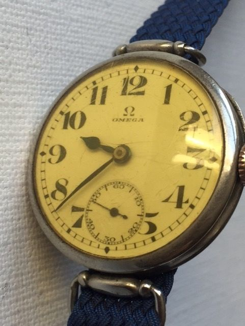 Omega-Antigue-Men's-Year 1914-Ultra Rear