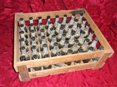 Box with 48 empty bottles of Sangalhos Porto - Caves Império - for collectors - 1970