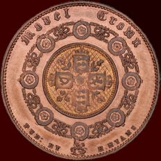 Great Britain - Model Crown - 1848 H - Hyams - Wide lettering - Barter Unknown Type