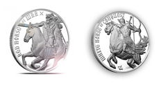 United States - medal 'Four Horseman' + 'Horseman of the Apocalypse' 2 x 1 oz silver