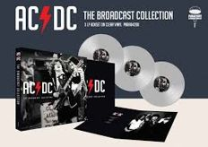 AC/DC ‎– The AC/DC Broadcast Collection || deluxe || Limited edition || Clear vinyl || Rare recordings
