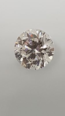 1.01 ct - Round Brilliant - White - E / VS1