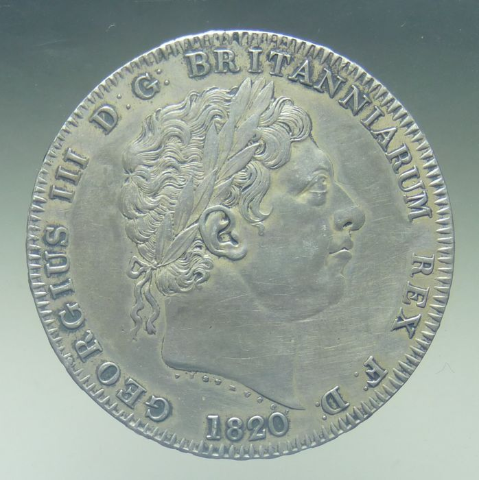 United Kingdom - Crown 1820LX George III - silver