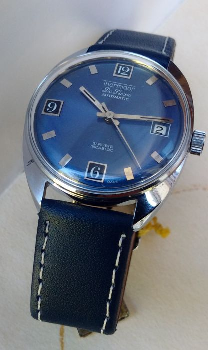 Thermidor De Luxe Dato Automatic- Swiss Made- men's watch - NOS - 1970s