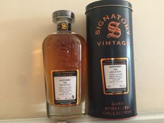 Glenturet 28 years 1986-2015 cask strength - Signatory