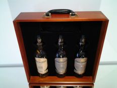 3 bottles - Knockando : very rare trilogy box with Solitaire game - 12 & 18 & 21 years old