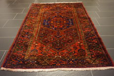 Old, highly valuable -Persian carpet- -Hamadan Malayer- -Made in Iran- -140 x 210 cm-