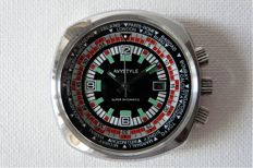 AVYSTYLE Datomatic Man's Wristwatch Early 1970s