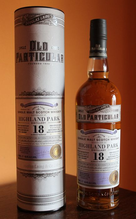 1996 Highland Park 18 Year Old - Old Particular (D Laing) 48.4%