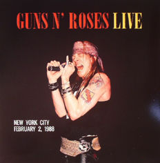 Guns N' Roses collection || 4 albums  || Limited edition || Coloured ||