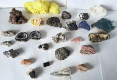 Collection of minerals - 25 to 150 mm - 3.6 kg (27)