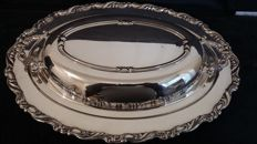 oneida silver plated tureen made in usa.