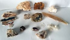 Lot of minerals - 20 to 185 cm - 1541 g (15)