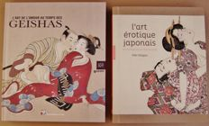 Oriental erotica; Lot with 2 books on the art of love in Japan - 2014/2017