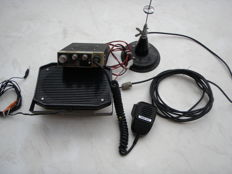 CB - Uniden PC33 X TX / complete transmitter set, antenna, microphone, speaker - 1975
