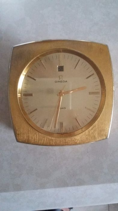 Omega table clock 1958
