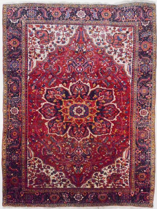 Persian carpet, exceptionally  beautiful Ahar, 380 x 288 cm
