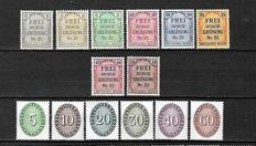 German Empire 1903/1942 - Small selection