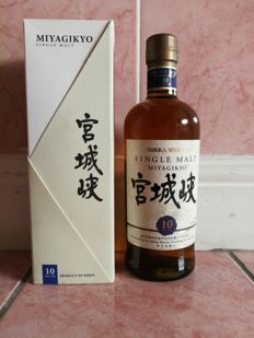 Miyagikyo 10 years old - Nikka Whisky - Single malt