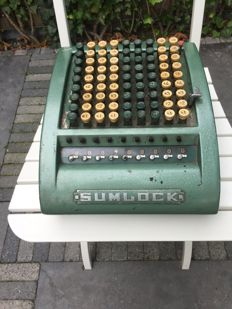 "Bell Punch ""Sumlock"", 909/C/108.370 - mechanical calculator - England - early 1950s"