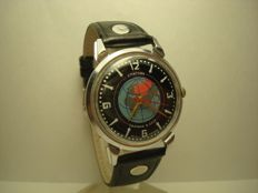 Sputnik map USSR  mariage watch 1980-1989