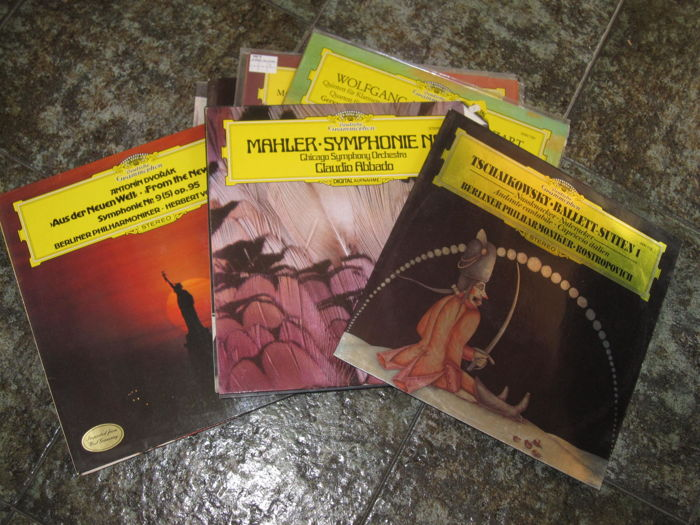 Classical music - Lot of 14 DG Deutsche Grammophon albums