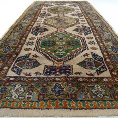 "Indo Bidjar – 192 x 95 cm – ""Oriental carpet in beautiful nearly unused condition"" – With certificate"