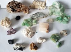 Collection of Chinese Minerals-20 to 195 mm-5 kg (33)