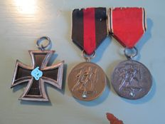 Lot German medals