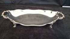 oneida tray silver plated made in usa.
