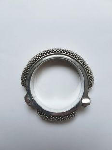 Silver tribal bracelet- Rajasthan, India