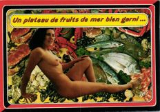 EROTICISM MODERN 114 x-large format cards-period:1980/2000