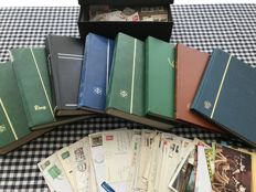 World - Collection with China, France, Italy, Indonesia, Japan, South America, Asia, Africa, Europe - 6 albums