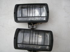 Sacex - Pair of headlights H3 ref # HR E 3 12.5 n 40137 - ca.1980