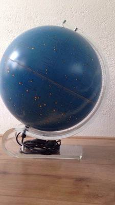 Sky star globe with lighting and visual effect - Scan Globe Copenhagen by Karl F. Harig