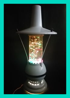 Unkown designer - A great example of a vintage USSR (Russian) glitter lamp.