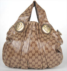 Gucci - Medium Crystal Monogram Hysteria Hobo - Never worn