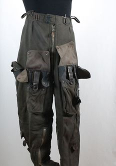 Pilot´s Trousers with electric heating system from the WWII Luftwaffe