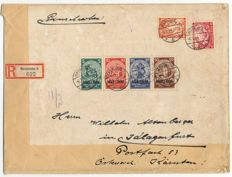 "German Empire/Reich - 1933 - ""So-called ""emergency assistance block"" - Michel block 2 on letter with certificate Schlegel BPP"