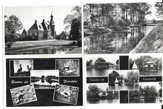 Netherlands, 280 small format postcards, mostly black/white some colour.