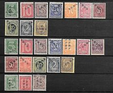 German Empire 1920/1944 -  A selection on Stock Pages