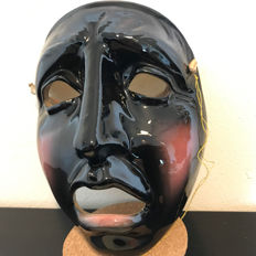Beautiful American high gloss theatre mask  - California - Clay Art