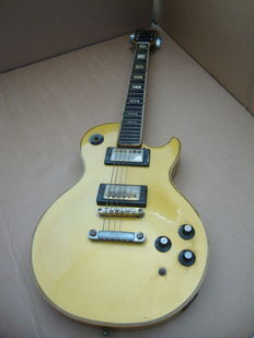 Ibanez Les Paul from the 70's with the lawsuit headstock
