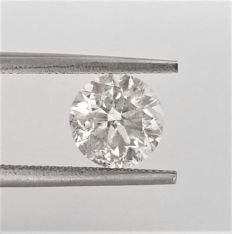 Round Brilliant Cut  - 2.01 carat   -  F color - SI2 clarity - Natural Diamond - Comes With IGL Certificate + Laser Inscription On Girdle
