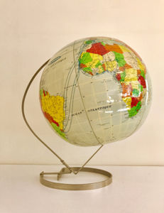 Rare Air France air globe, special edition issued in 1968.
