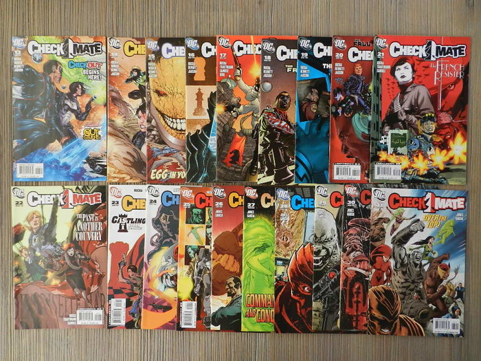 DC Comics - Checkmate! Volume 2 # 1-31 - Complete Set + More - 35x SC (1989/2008)