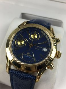 Pryngeps Extra Sangue Blue Chronograph Manual ref: 4.054.0.0.65 – men's watch